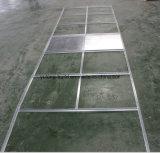 Потолок Suspened T-Grid оформление материалов