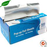 박판으로 만들어진 알루미늄 호일 종이 가구 음식 감싸기 포일