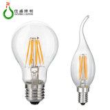 2017 illuminazione della lampadina del filamento di A60 4With6With8W LED, lampadine libere E27/E26/B22