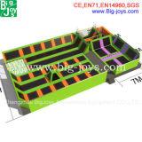 Tomada de preço de fábrica trampolim Park, Personalizar Piscina Trampolim Park para venda