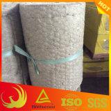 Material de aislante de la manta de las lanas minerales de la roca con el acoplamiento de alambre