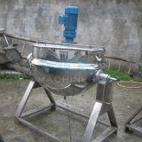 Vente chaude 50L inclinant la jupe revêtue de bouilloire faisant cuire le carter (ACE-JCG-AB)