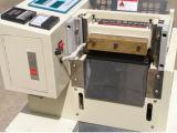 Automatische heiße elastische Farbband-Ausschnitt-Maschine, heißer Verkauf