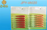 Balai interdentaire de cure-dent en plastique de qualité d'approvisionnement d'usine