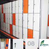 Quatro séries Waterproof cacifos estratificados Phenolic do armazenamento