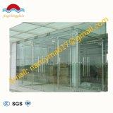 vetro di vetro Tempered/Toughed della radura di spessore di 12mm per la rete fissa/Fencig della piscina