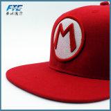 プラスチック閉鎖が付いているカスタム3D野球帽の刺繍の急な回復の帽子