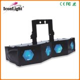 Hot 4 Head Laser Diamond Lens LED Efeito de Iluminação para Disco