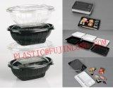 Envase de alimentos plástico que hace la máquina (cuatro-pilar)