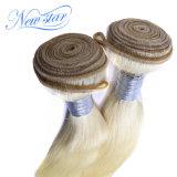 2 gruppi del Virgin dei capelli del tessuto diritto brasiliano dei capelli umani