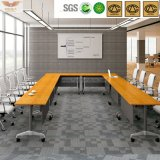Таблица комнаты правления панели твердого Bamboo зерна деревянная (HY-60-0303)