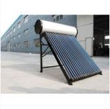 Réservoir chauffant d'eau solaire pressurisé en acier inoxydable