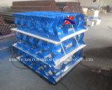 Tenditore del rullo di sostegno del blocco per grafici per estrazione mineraria del nastro trasportatore