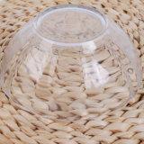 Ciotola di vetro della radura degli articoli per la tavola dell'alimento e della frutta