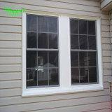 La concha de alta calidad de la ventana de PVC de deslizamiento vertical para el comercio al por mayor