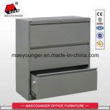 3 Fach-Metallc$voll-aufhebung seitlichen zugelassenen oder letzten Stahldatei-Schrank Anti-Kippen