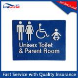 PlasticブレールSignsのための顧客用Toilet Signage