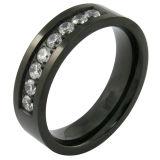 Acero inoxidable CNC anillo giratorio de oro