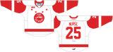 Liga de Hóquei de Ontário personalizados Sault Ste. Marie Galgos 2009-2014 Home Road Hóquei no Gelo Jersey