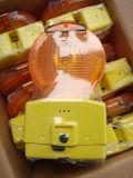 Luces ultra brillantes el tener cuidado con de la barricada del tráfico del LED que contellean