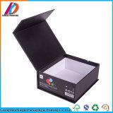 Коробка сильного черного подарка книга в твердой обложке упаковывая с магнитной