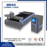 Nova máquina de corte de tubo de laser de fibra com corpo Plate-Welding LM3015m3