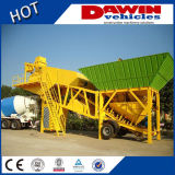 Construction Mobile Mix Concrete Batching Plant prix d'usine