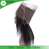 Frontals brasiliani umani dei capelli diritti di alta qualità all'ingrosso a buon mercato 360
