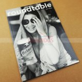 Libro de la revista Revista a todo color de la impresión de catálogos