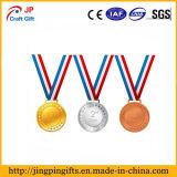 Kundenspezifische Goldmetallmedaille der Förderung-3D