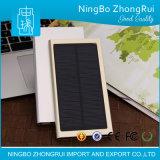 chargeur solaire du meilleur de la qualité 8000mAh de panneau côté portatif universel de pouvoir avec l'éclairage LED