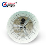 L'isolement F 0,37 kw haut de l'air ventilateur axial cône en fibre de verre à effet de serre