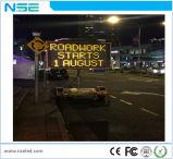 Sinal de tráfego ao ar livre do diodo emissor de luz do reboque dos Vms