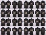 Мужской костюм для детей женщин малышей в Сиэтле Кортеса Кеннеди Jarran пластинчатый Даг Болдуин Джимми Грэм пустой черный серый американского футбола футболках Nikeid Custom любое имя цифры