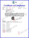 Robinet d'évier de cuisine en acier inoxydable à une poignée avec certificat CSA