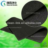 Amortisseur de l'odeur fibreux de support de filtre à charbon actif