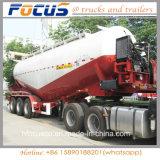 4 Semi Aanhangwagen van de Tanker van het Cement van assen de Bulk
