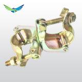 Acoplador de doble estampadas para tubo y el acoplador de andamio