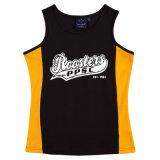 De sporten bekleden het Professionele snel-Droogt Aanstotende Vest van de Gymnastiek van de T-shirt van de Kleren van de Training van het Mouwloos onderhemd van de Fitness Actieve Lopende