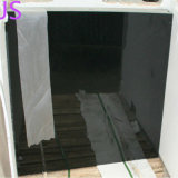 Absolutes schwarzes Granit-Fußbodenbelag-/polierte Shanxi-schwarze Granit-Platten