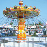 De openlucht het Vliegen van het Pretpark van Kiddie van de Speelplaats Ritten van de Stoel van de Schommeling