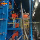 Máquina de limpeza do gancho duplo Granalhagem a máquina