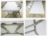 Таблица прямоугольного пластичного HDPE складывая обедая