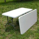 Оптовая торговля пластиковые складные HDPE прямоугольник складные столы свадьбы