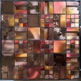 Кристально чистый звук стеклянной мозаики плиткой и алюминия мозаика из нержавеющей стали (FYML128)