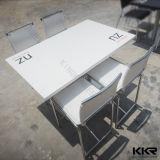 Верхняя часть таблицы мебели трактира твердая поверхностная каменная мраморный