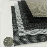 На экране насекомых из нержавеющей стали и оконные стекла сетка