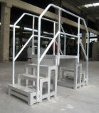 Workshop Passage Equipment를 위한 알루미늄 Safety Bridge (손잡이지주에)