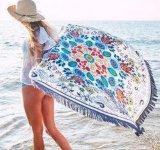 円形浜の投球タオルの服のスカート大きい浜の覆い