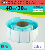 Colores de la etiqueta de papel o etiqueta engomada